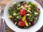 Bean Scape Salad e1443592752367