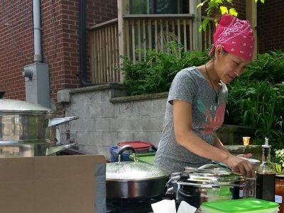 Tsewang Chodon uses Ontario garlic in her traditional Tibetan MoMo dumplings.
