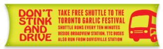 Garlic Festival Bus