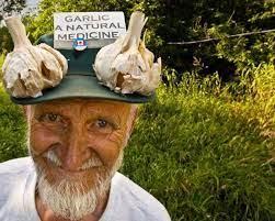 Ted Mazcka Fish Lake Garlic Man